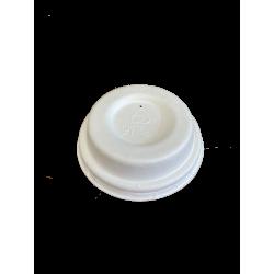 Couvercle gobelet 4OZ en fibre moulée x 50