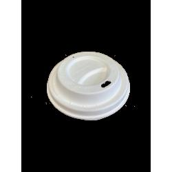 Couvercle gobelet 10OZ en fibre moulée x 50