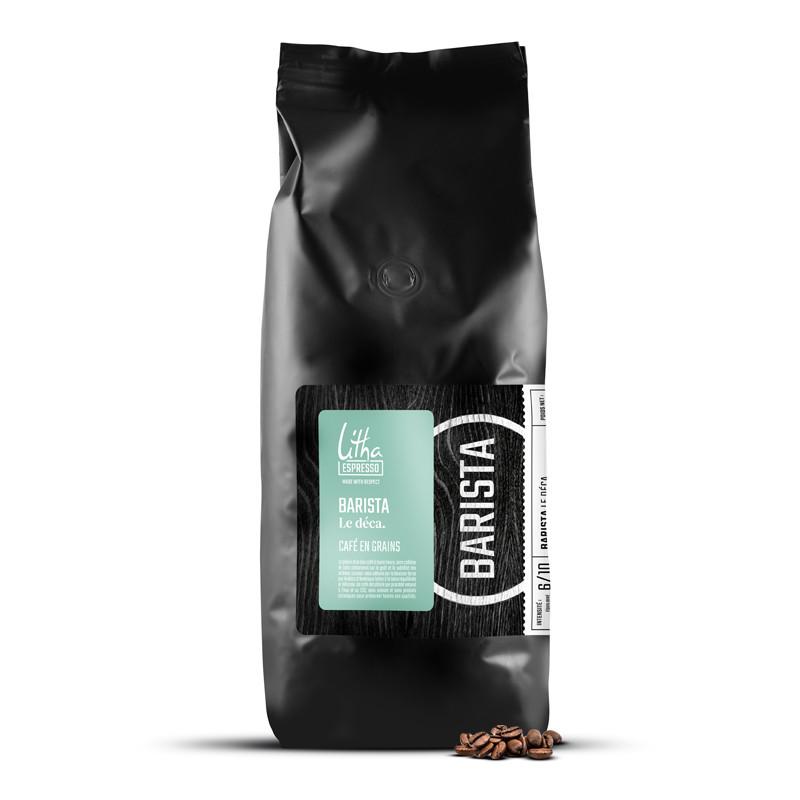 Café en grains Barista Le déca.