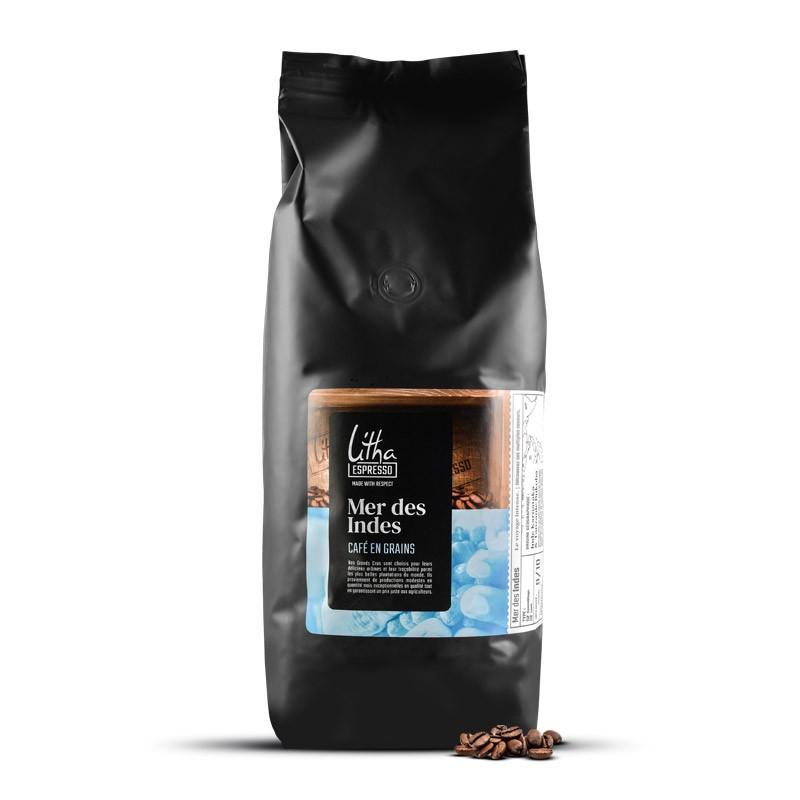 Café en grains Mer des Indes - LITHA ESPRESSO