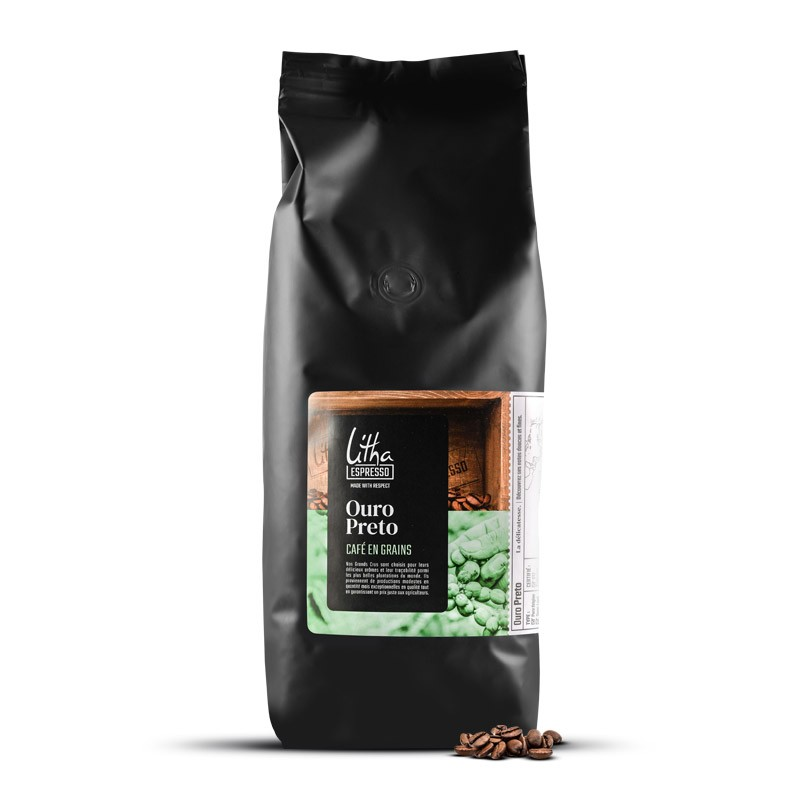 Café en grains Ouro Preto - LITHA ESPRESSO