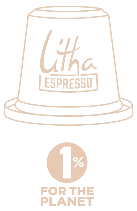 Litha Espresso 1% for the planet
